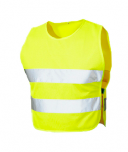 High visibility dog reflective safety vest
