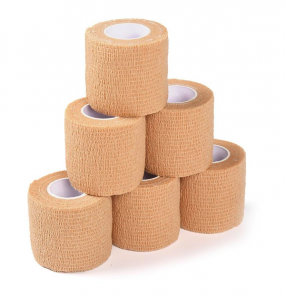Colored Waterproof Self Adhesive Elastic Bandage