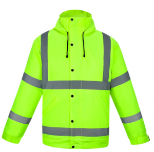 High visibility winter outdoor safety reflective workwear