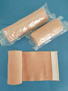 Skin color high elastic bandage-latex free