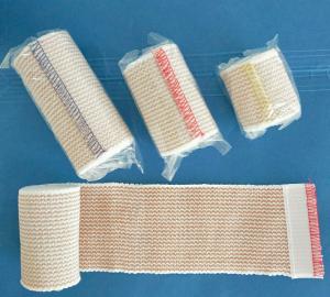Stripe elastic bandage-latex free